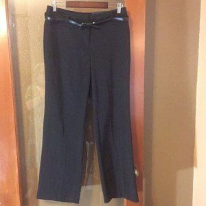 NWT Apt. 9 Black Curvy Fit Mid Rise Trouser
